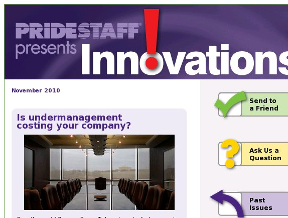 [Innovations] Is undermanagement costing your company?